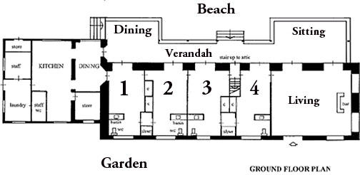 Cottage Beach House Floor Plans