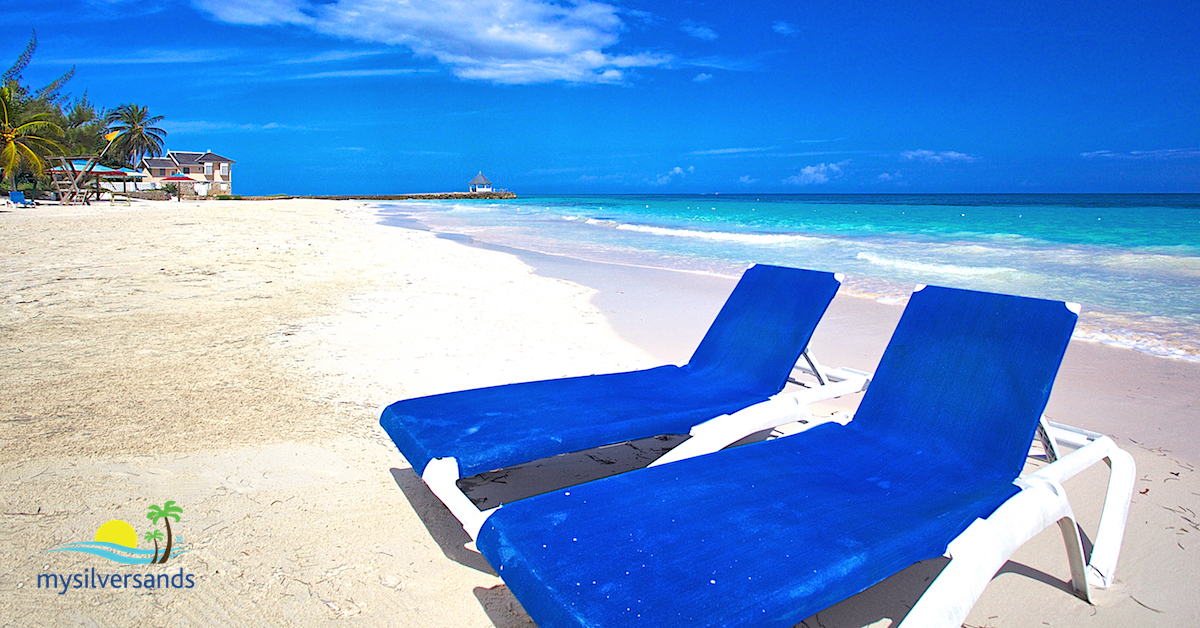 relax on the silver sands beach