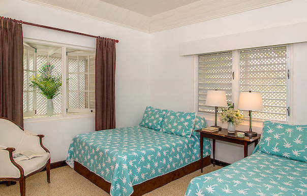 Bedroom 5 Is Furnished With Two Double Full Size Beds Photo By Nigel Lord Courtesy Of The Owner