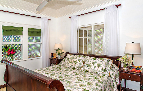 Bedroom 3 Is Furnished With A King Bed Photo By Nigel Lord Courtesy Of The Owner
