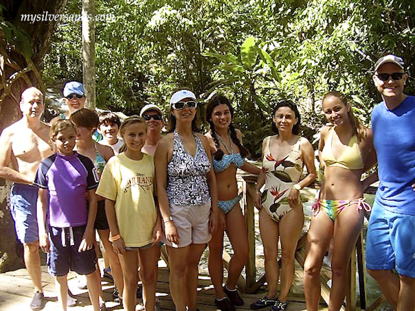 group at dunns river falls jamaica