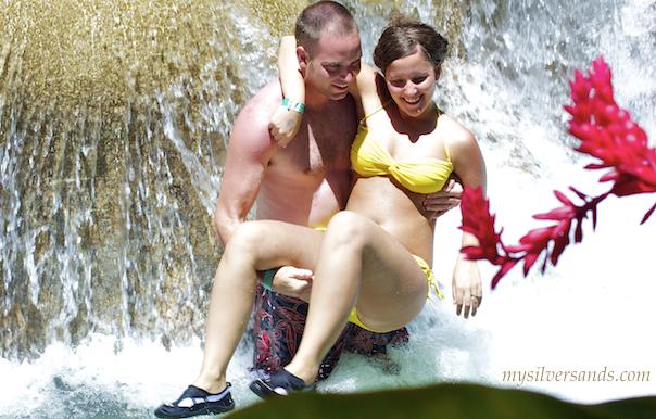 falls Nude wife river