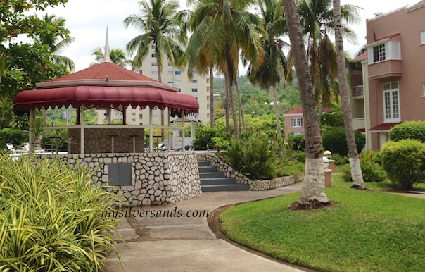 gazebo poolside at fisherman's point ocho rios jamaica