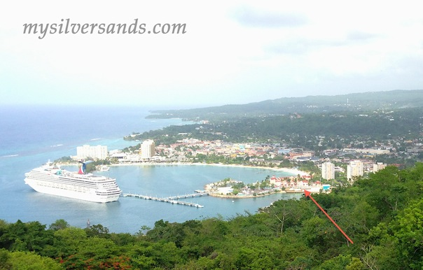 location of fisherman's point on ocho rios bay