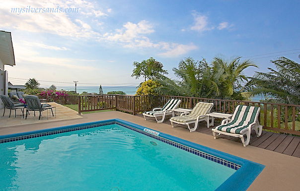 kamarr villa with pool and sea view at silver sands jamaica
