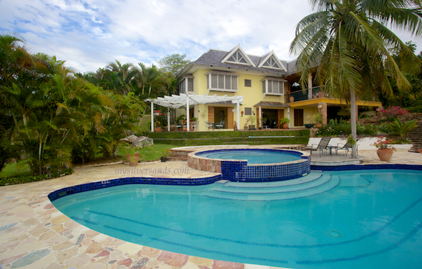 rock hill villa situated on hill top with private pools and panoramic views in silver sands jamaica