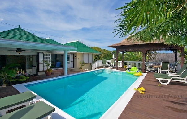 sea spray villa with pool very near to the beach at silver sands jamaica
