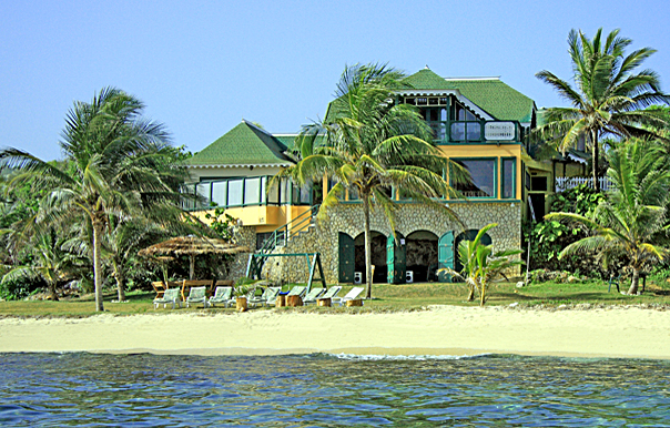 endless summer villa, on the beach at silver sands jamaica