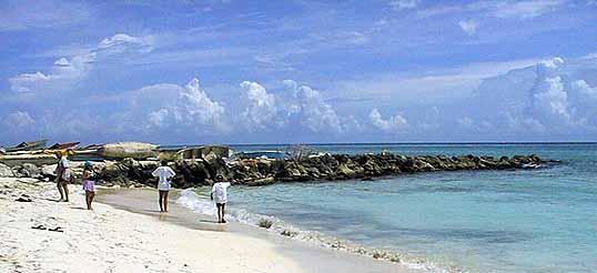 The Public Swimming Beach