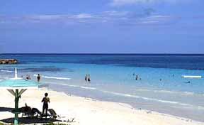 The magnificent white sand beach at Silver Sands, Jamaica, is available to all owners and their guests- that's you.