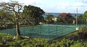 Tennis Court of Silver Sand