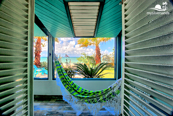 hammock and sea view