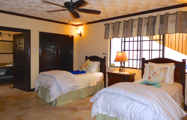 bedroom three of dukes hideaway in silver sands jamaica