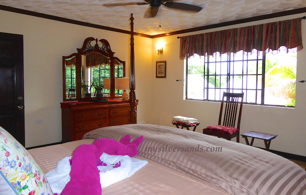bedroom four of dukes hideaway in silver sands jamaica