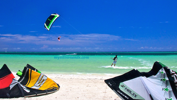 kiting at burwood beach at white bay jamaica