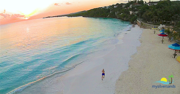 Silver Sands Beach Jamaica At Sunrise
