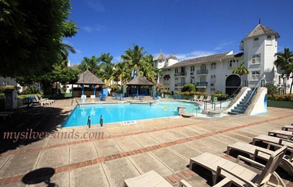 Swimming Pool And Wading In Common Area Of The Resort