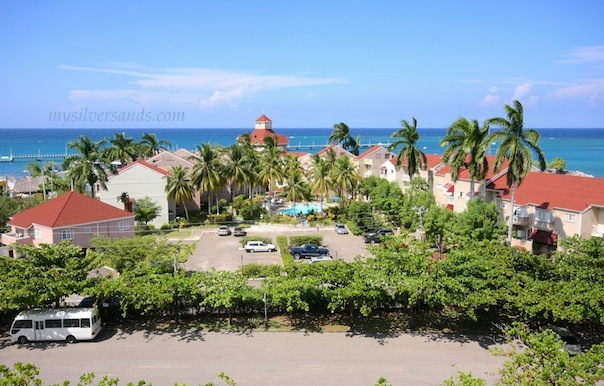 view of fisherman's poiny complex from turtle beach towers in ocho rios jamaica