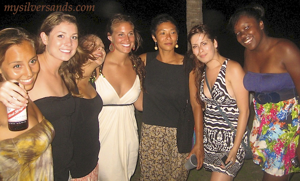students from usd at farewell party silver sands jamaica 2011