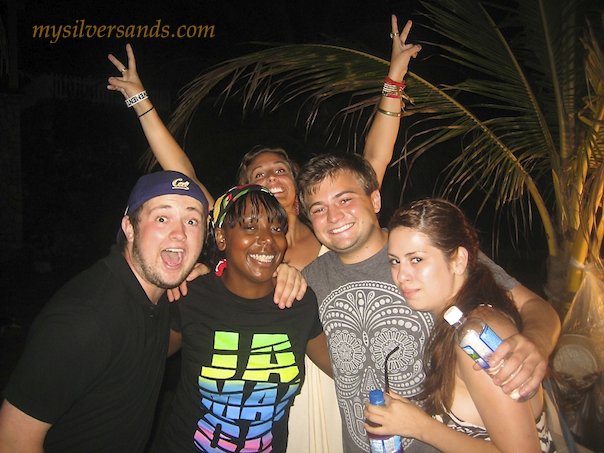students from university of san diego at farewell party endless summer silver sands jamaica 2011