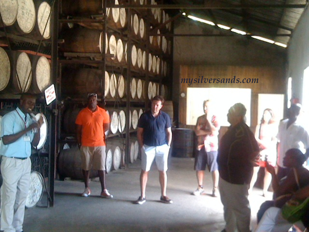 in the distillery at appleton on their rum tour in siloah maggotty jamaica