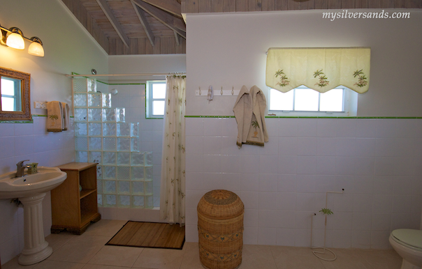 bathroom 1 of blue moon villa in silver sands jamaica