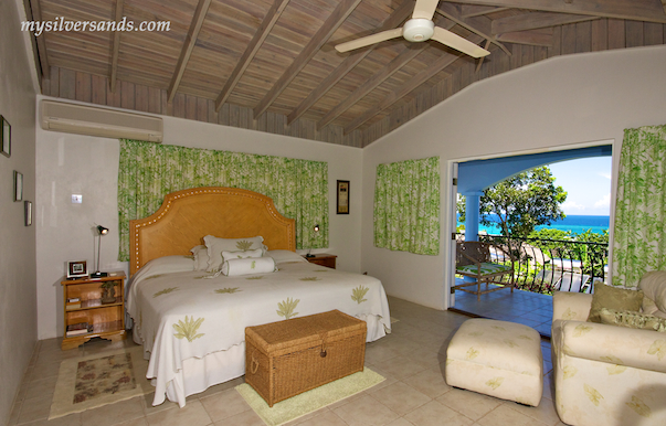 bedroom 5 at blue moon villa in silver sands jamaica