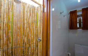shower of bedroom 4 at blue vista in silver sands villas jamaica