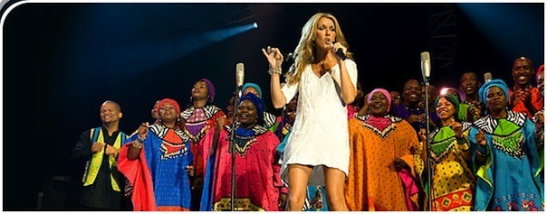 celine dion for jamaica jazz and blues art of music festival 2012