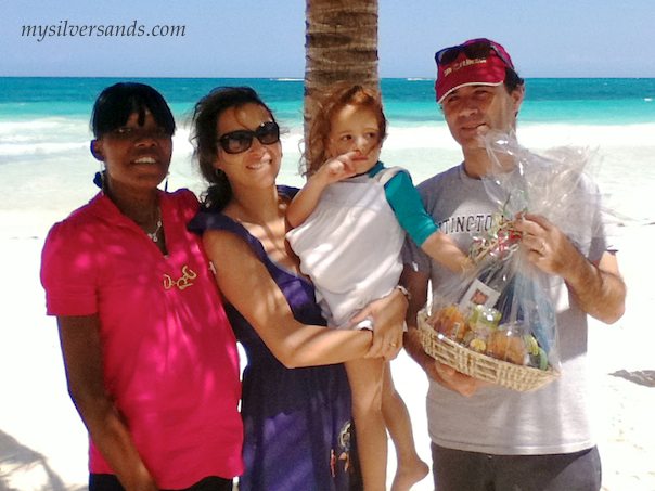 fredrico barna likes the beach and family atmosphere at silver sands villas jamaica