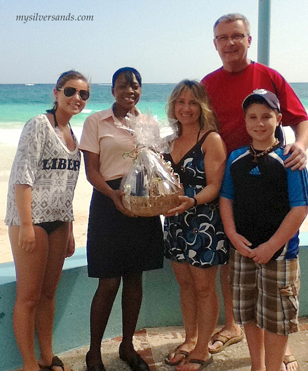 hillier party returned to bue vista villa at silver sands jamaica