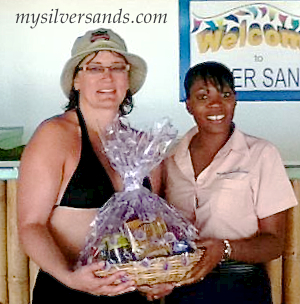 vanessa netherton returns to rum jetty cottage at silver sands jamaica