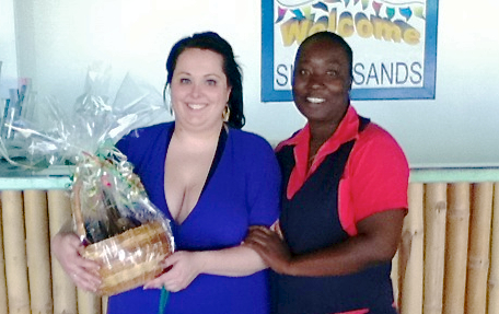 sara goodwin returned to hang time villa at silver sands jamaica in 2011