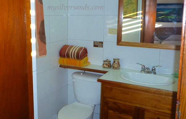 bathroom 2 en suite at roots cottage