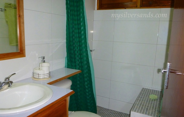 bathroom 4 of roots cottage in silver sands