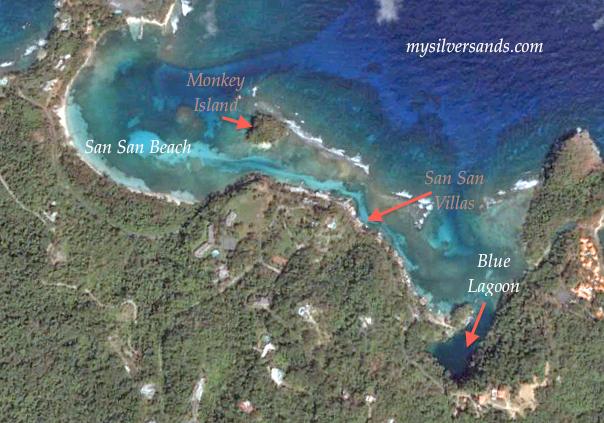 San Villas Jamaica Near Beach And Blue Lagoon Portland