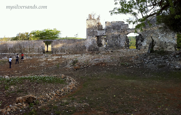 north side of the ruins of stewart castle jamaica