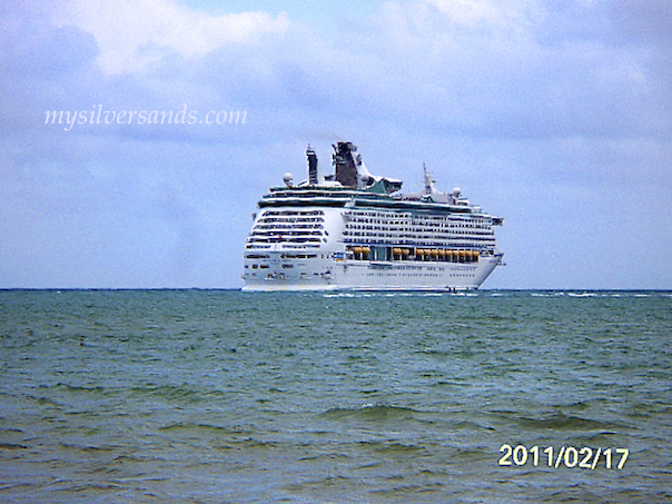 voyager of the seas approaching falmouth jamaica