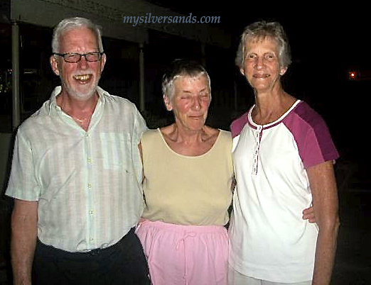 3 guests at the silver sands welcome party hosted by mysilversands jamaica