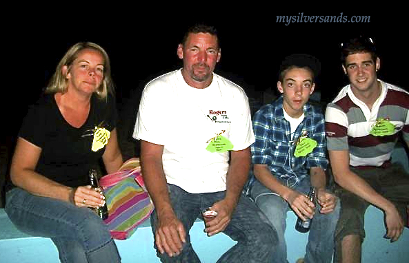 Dave Rogers & Family at silver sands welcome party